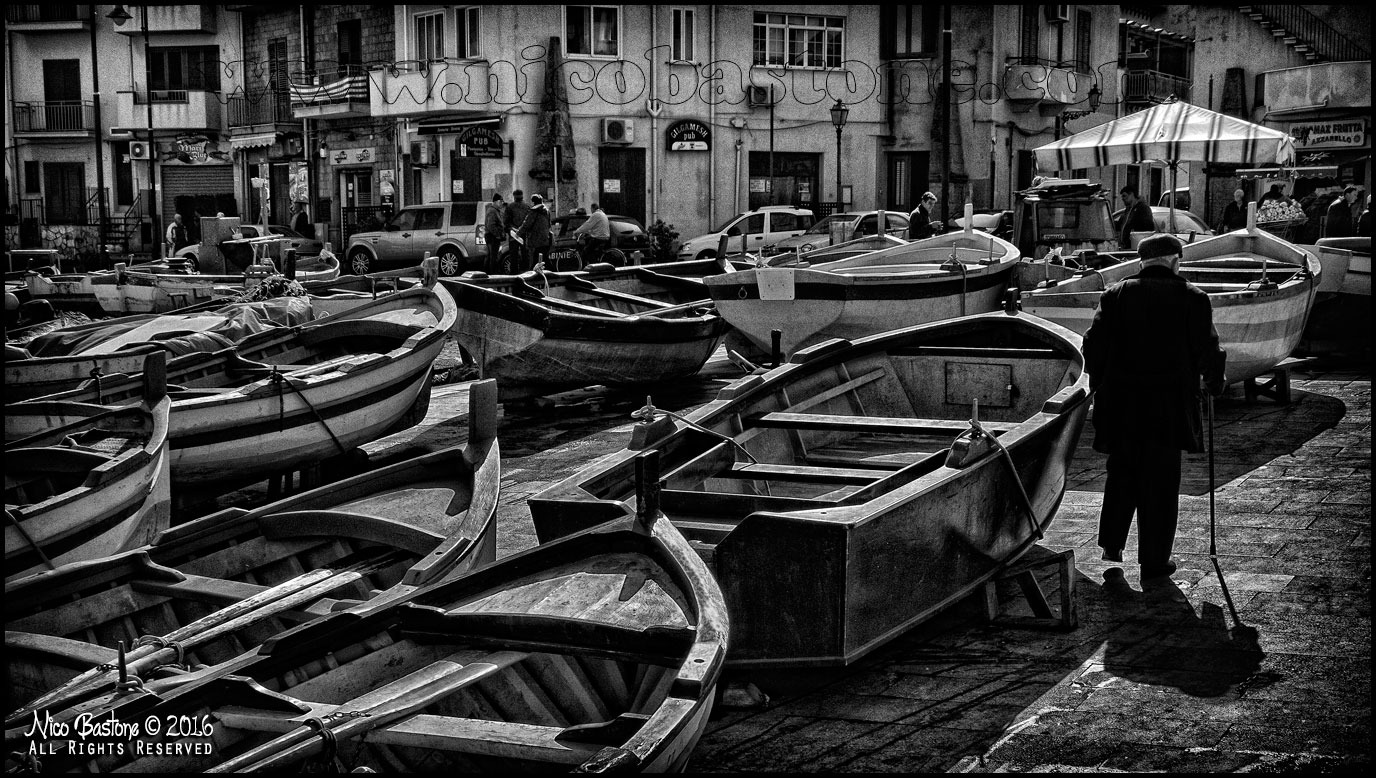 "Aspra, Bagheria PA ""Boats and People 02"""