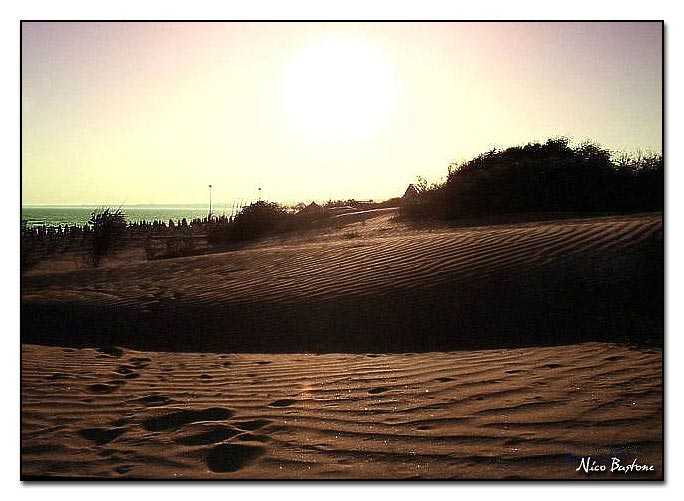 "Marina di Ispica - Ragusa ""Marispica, dune against the light"""