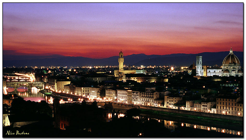 Romantic Florence: a large view