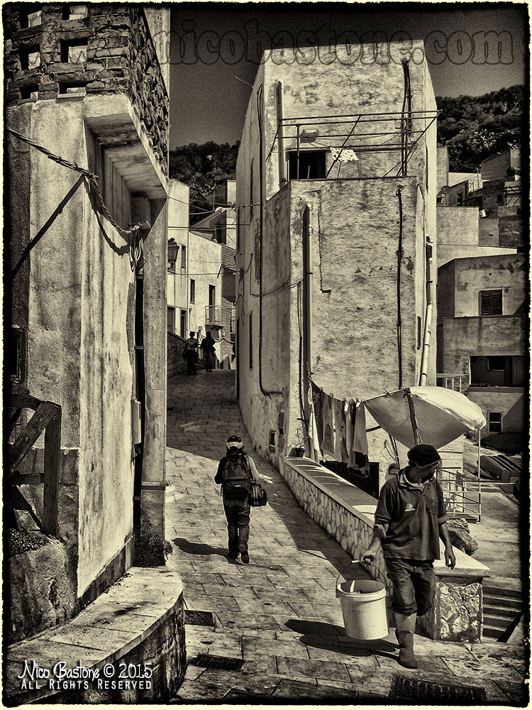 Levanzo, Isole Egadi - Black & White 02