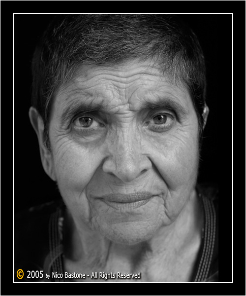 Ritratto: Mia Madre - Portrait: My Mother