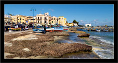 "Mondello, Palermo  ""Panorama in un giorno d'inverno - Seascape in a winter day"""
