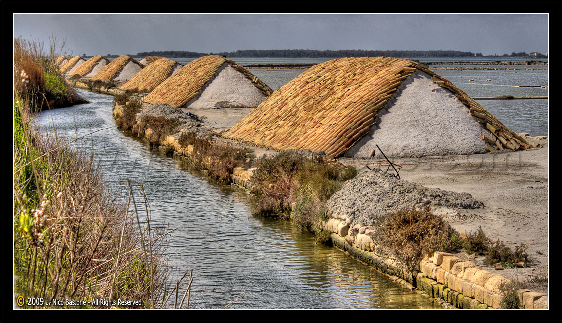 "Mozia - Mothia, Motya, Marsala TP ""Lo stagnone, le saline e i mulini a vento - The Saline (salt production) windmill 03"""