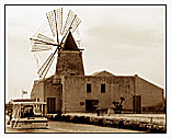 "Marsala  ""The Saline"" (Salt production) - ""Windmill"""