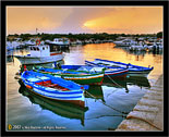 Ognina, Siracusa # 1 barche al tramonto - boats at the sunset