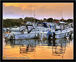 Ognina, Siracusa # 2 barche al tramonto - boats at the sunset