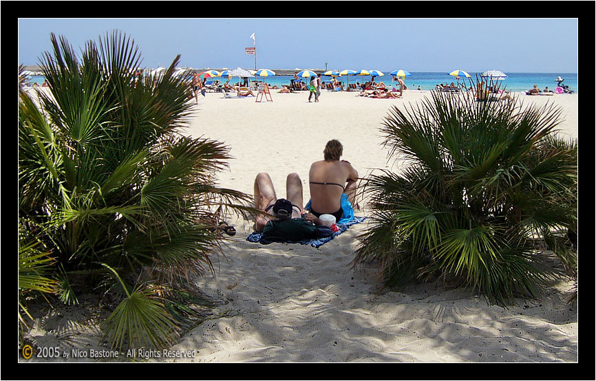 "San Vito Lo Capo, Trapani ""All'ombra n� 2 - In the shade #2"""