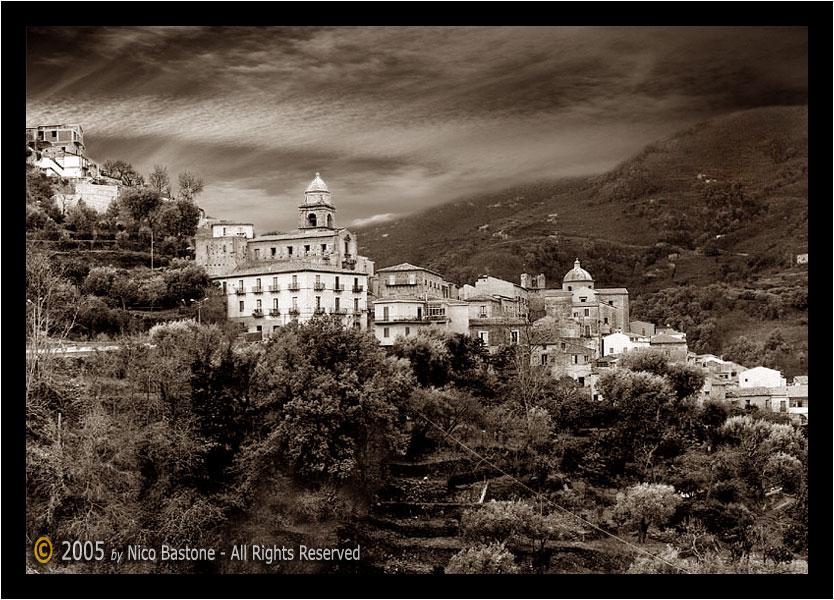 Sant'Angelo di Brolo ME - Paesaggio S.Angelo di Brolo in province of ...