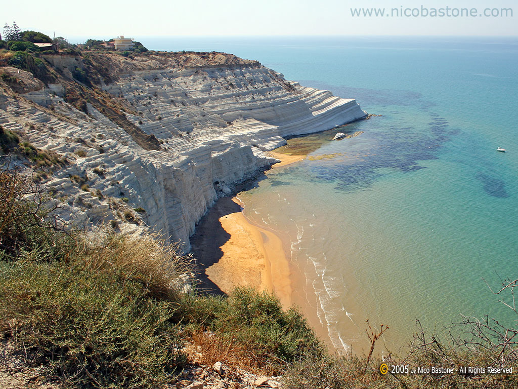 """Scala dei Turchi - Capo Rossello"" - Realmonte, Agrigento # 1 - Copyright by Nico Bastone - All Rights Reserved"