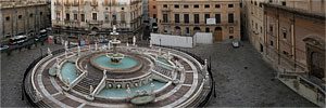 Panoramic Photography - Foto Panoramiche - Piazza Pretoria - PALERMO - Panorama - A large view - 1782x1000