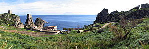 Panoramic Photography - Foto Panoramiche - Scopello, Castellammare del Golfo TP - Panorama - A large view - 2695x600